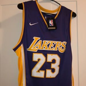 Nike Lebron Lakers Jersey size L